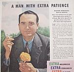 Vintage Ad: 1940 Camel Cigarettes W/ David Burpee