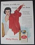 1955 Philip Morris Cigarettes