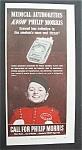 1943 Philip Morris Cigarettes W/bellboy (Philip Morris)