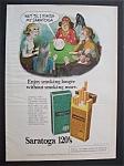1976 Saratoga 120's Cigarettes