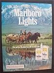 1985 Marlboro Lights Cigarettes