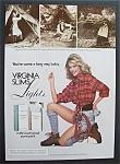 1981 Virginia Slim Light Cigarettes