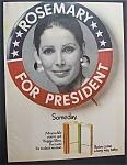 1970 Virginia Slims Cigarettes