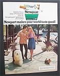 1972 Newport Cigarettes