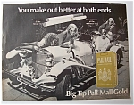 1968 Pall Mall Cigarettes