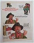 1969 L & M Cigarettes