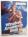 1986 Winston Cigarettes