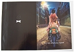 2000 Salem Cigarettes With Woman On Back Of Motorcycle