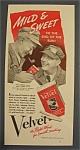 1940 Velvet Pipe & Cigarette Tobacco