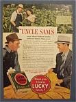 1940 Lucky Strike Cigarettes