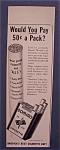1942 Domino Cigarettes
