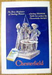 1937 Chesterfield Cigarettes With The 3 Musketeers