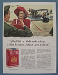 1941 Pall Mall Cigarettes With A Woman By John Falter