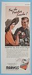 Vintage Ad: 1943 Marvels Cigarettes