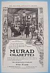 1907 Murad Cigarettes W/buffet Of Bellevue-stratford