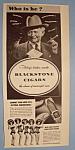 Vintage Ad: 1943 Blackstone Cigars