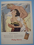 Vintage Ad: 1955 Philip Morris Cigarettes