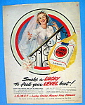 Vintage Ad: 1949 Lucky Strike Cigarettes
