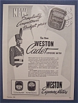 1949 Weston Exposure Meters