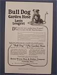 1916 Bull Dog Garden Hose