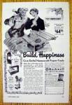 1949 Delta Homecraft Power Tools With Happy Man