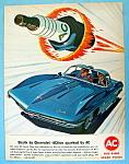 Vintage Ad: 1963 Ac Spark Plugs
