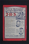 Vintage Ad: 1923 2-r-3 Tire Carrier