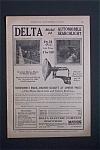 Vintage Ad: 1923 Delta Model 24 Automobile Searchlight