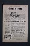 Vintage Ad: 1923 Cincinnati Storage Batteries