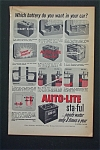 Vintage Ad: 1952 Auto-lite Sta-ful Battery