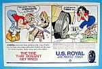 Vintage Ad: 1961 U. S. Royal Tires