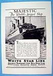 Vintage Ad: 1925 White Star Line