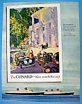 Vintage Ad: 1957 Cunard