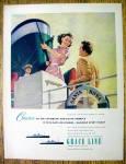 1952 Grace Line Cruises