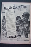 Vintage Ad: 1943 The New Haven R. R.