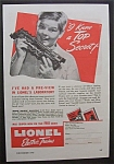 1945 Lionel Electric Trains