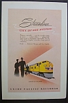 Vintage Ad: 1949 Union Pacific Railroad