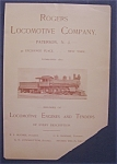 1898 Rogers Locomotive Company