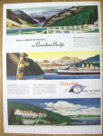 1949 Canadian Pacific With Spans The World