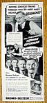 Vintage Ad: 1940 Bromo Seltzer W/ Herman Offerman