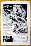1947 Lionel Trains