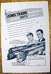 1949 Lionel Trains