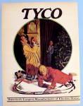 1972 Tyco Electric Train W/ Boy Watching Man