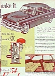 Ford Automobile For 1954 Ad