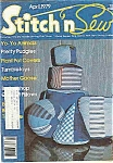 Stitch N Sew Magazine - April 1979