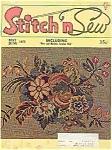 Stitch N Sew Magazine - May/june 1972