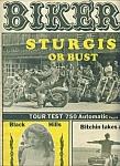 Biker - Motorcycle Magazine Newspaper - Sept. 7, 1977