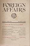 Foreign Affairs Book/magazine - Winter 1988/89