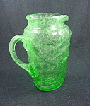 Consolidated Catalonian Tri Jug - Emerald