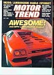 Motor Trend Magazine - May 1990